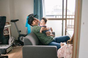 東京で家族写真と一緒に動画を残せる出張撮影プラン3