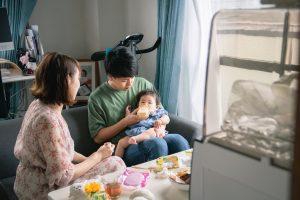 東京で家族写真と一緒に動画を残せる出張撮影プラン10