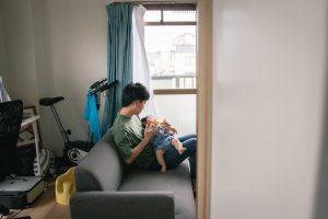 東京で家族写真と一緒に動画を残せる出張撮影プラン12