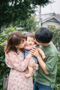 東京で家族写真と一緒に動画を残せる出張撮影プラン14