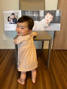 Tokyo My Story ハーフバースデー、開くたびに成長を感じる記念アルバム|出張等身大フォトアルバムプラン24